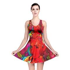 Mardi Gras Reversible Skater Dress
