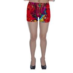 Mardi Gras Skinny Shorts