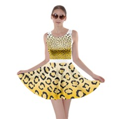 Selina Leopard1 Skater Dress