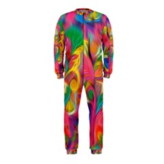 Colorful Floral Abstract Painting OnePiece Jumpsuit (Kids)