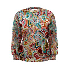 doodling Women s Sweatshirt