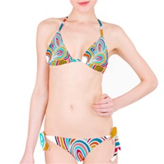 Doodle design Bikini