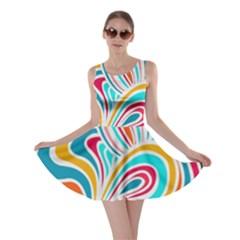 Doodle design Skater Dress