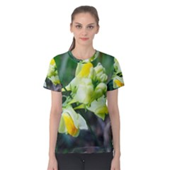 Linaria Flower Women s Cotton Tee