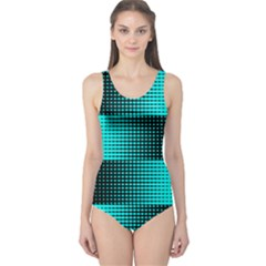 dots One Piece Swimsuit