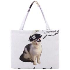 Pi-rate Cat Tiny Tote Bag