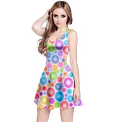 Candy Color s Circles Reversible Sleeveless Dress