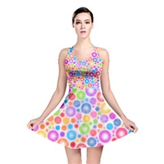 Candy Color s Circles Reversible Skater Dress