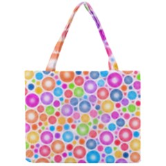 Candy Color s Circles Tiny Tote Bag