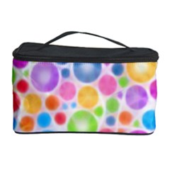 Candy Color s Circles Cosmetic Storage Case