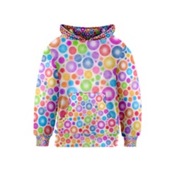 Candy Color s Circles Kid s Pullover Hoodie