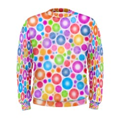 Candy Color s Circles Men s Sweatshirt