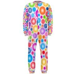 Candy Color s Circles Onepiece Jumpsuit (men)