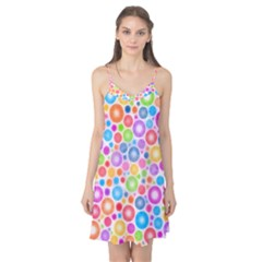 Candy Color s Circles Camis Nightgown