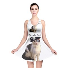 Pi Rate Cat Reversible Skater Dress