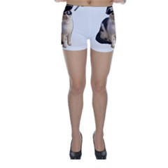 Pi Rate Cat Skinny Shorts