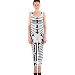 Finger Labyrinth Onepiece Catsuit