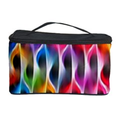Rainbow Psychedelic Waves Cosmetic Storage Case