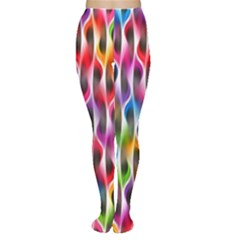 Rainbow Psychedelic Waves Tights
