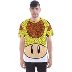 Really Mega Mushroom Men s Sport Mesh Tee