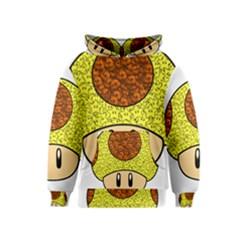 Really Mega Mushroom Kid s Pullover Hoodie
