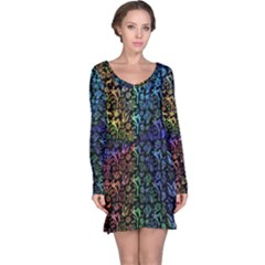 200RBOW Long Sleeve Nightdress