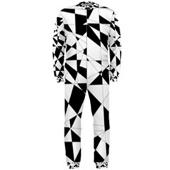 Shattered Life In Black & White OnePiece Jumpsuit (Men)