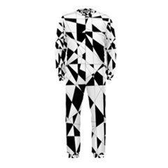 Shattered Life In Black & White OnePiece Jumpsuit (Kids)