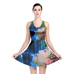 Fountain Of Youth Reversible Skater Dress
