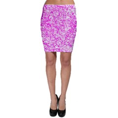 Officially Sexy Pink & White Bodycon Skirt