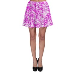 Officially Sexy Pink & White Skater Skirt