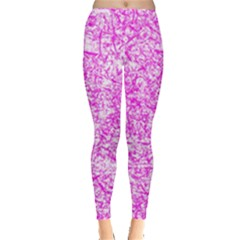Officially Sexy Pink & White Leggings