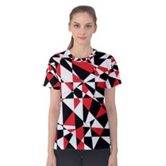 Shattered Life Tricolor Women s Cotton Tee