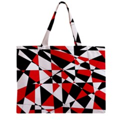 Shattered Life Tricolor Tiny Tote Bag