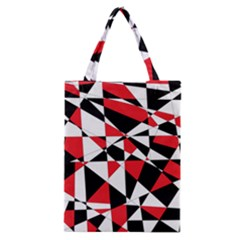 Shattered Life Tricolor Classic Tote Bag
