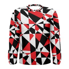Shattered Life Tricolor Men s Long Sleeve T-shirt