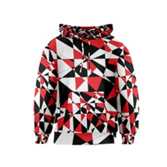 Shattered Life Tricolor Kid s Pullover Hoodie
