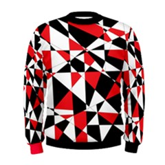 Shattered Life Tricolor Men s Sweatshirt