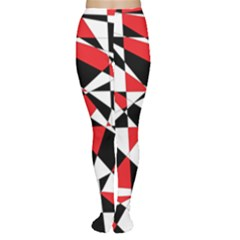 Shattered Life Tricolor Tights
