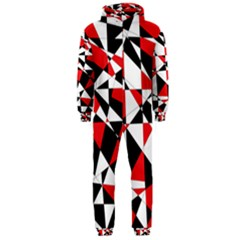 Shattered Life Tricolor Hooded Jumpsuit (Men)