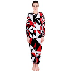 Shattered Life Tricolor OnePiece Jumpsuit (Ladies)