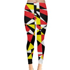 Shattered Life With Rays Of Hope Leggings