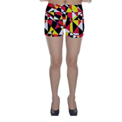 Shattered Life With Rays Of Hope Skinny Shorts