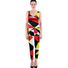 Shattered Life With Rays Of Hope Onepiece Catsuit
