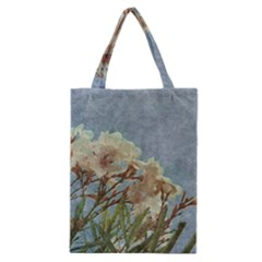 Floral Grunge Vintage Photo Classic Tote Bag
