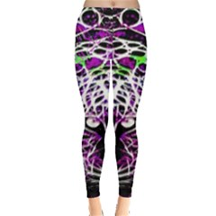 Officially Sexy Panther Collection Purple Leggings