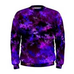 Purple Skulls Goth Storm Men s Sweatshirt