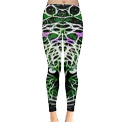 Officially Sexy Green Panther Collection Leggings