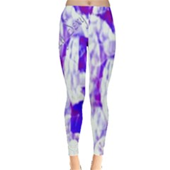 Officially Sexy Candy Collection Purple Leggings