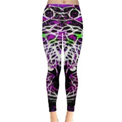 Officially Sexy Purple Panther Collection Winter Leggings